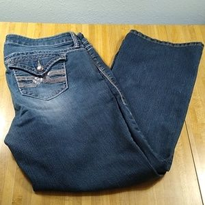 Torrid Denim Jeans Bootcut Size 14